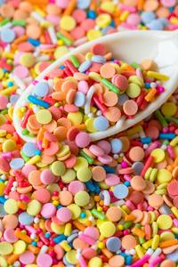 240x400 Candies Scoop Colorful Sprinkles