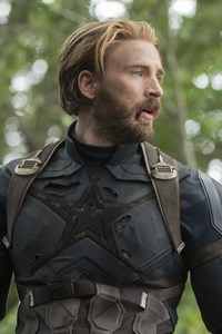 480x854 Captain America In Avengers Infinity War