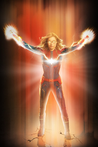 720x1280 Captain Marvel 2019 New