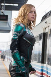 320x480 Captain Marvel 5k