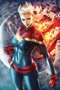 540x960 Captain Marvel DigitalArt