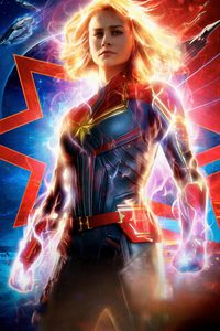 720x1280 Captain Marvel Movie 2019 4k