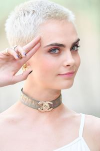 Cara Delevingne Pixie Hair Cut