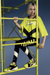 Cara Delevingne PUMA Muse Cut Out 2018