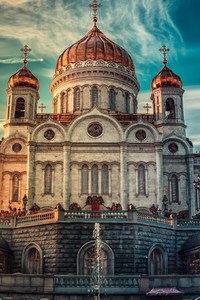 1080x1920 Cathedral of Christ the Savior in Russia