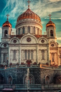 480x854 Cathedral Of Christ The Savior Russia In Moscow