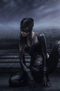 800x1280 Catwoman Cosplay 10k