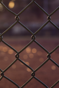 1440x2560 Chain Fence Outdoors 5k