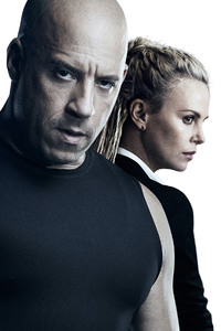 Charlize Theron Vin Diesel The Fate of the Furious