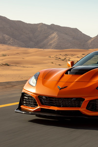 Chevrolet Corvette ZR1 2019 Front View