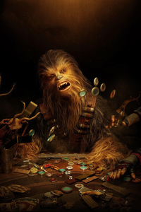 Chewbacca In Solo A Star Wars Story 2018 Movie
