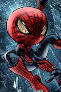 800x1280 Chibi The Amazing SpiderMan