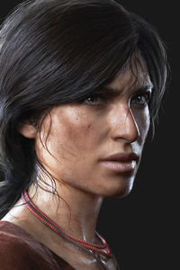 480x800 Chloe Frazer Uncharted The Lost Legacy 4k
