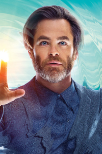 240x400 Chris Pine A Wrinkle In Time 2018 Movie
