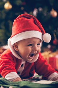 1125x2436 Christmas Baby Santa Outfit
