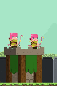 Clash Of Clans 8 Bit Minimalism