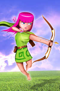 Clash Of Clans Archer