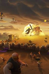 Clash Of Clans Giants War
