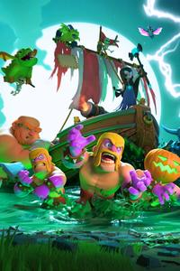 Clash Of Clans Halloween 4k