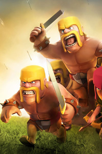 240x320 Clash Of Clans HD