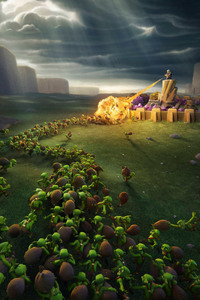 Clash Of Clans 1080x1920 Resolution Wallpapers Iphone 76s6 Plus