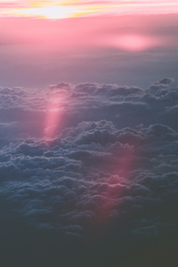 1080x1920 Clouds During Sunset 5k