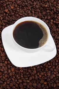 750x1334 Coffee Cup Beans 4k