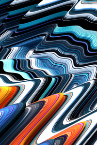 360x640 Colorful Illustration Abstract 4k