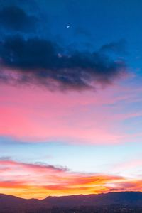 320x480 Colorful Sunset Sky 5k