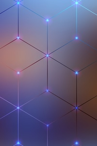 1440x2960 Cube Geometry Digital Art 4k