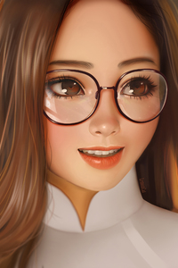 360x640 Cute Girl Artwork