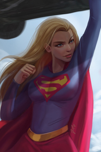 Cute Supergirl Artwork