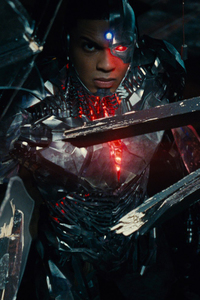 Cyborg In Justice League 2017
