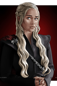 360x640 Daenerys Targaryen Game Of Thrones Digital Art