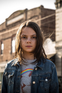 Dafne Keen In Logan Movie
