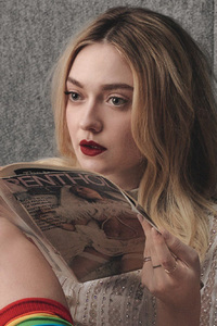 Dakota Fanning W Magazine Photshoot