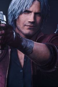 320x480 Dante Devil May Cry 5k