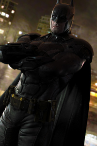 320x568 Dark Knight Artwork