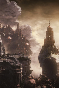Dark Souls 3 City Fantasy