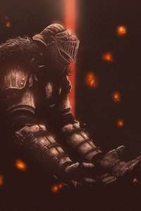 1440x2560 Dark Souls Fan Art