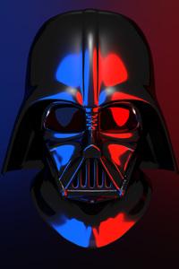 Darth Vader Helmet 4K 1125x2436