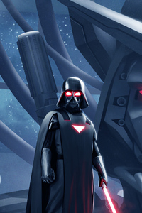 2160x3840 Darth Vader New Art