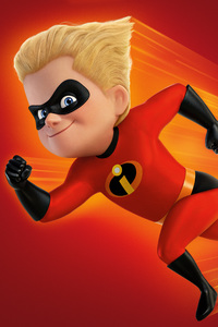 Dash In The Incredibles 2 2018 4k