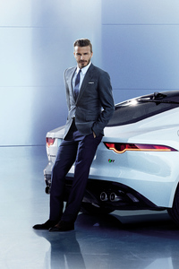 640x960 David Beckham Jaguar 8k
