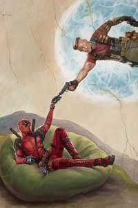 320x568 Deadpool 2 2018 Movie Poster