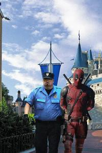 720x1280 Deadpool 2 Arrested By Police