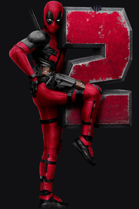 480x800 Deadpool 2 Dark 8k