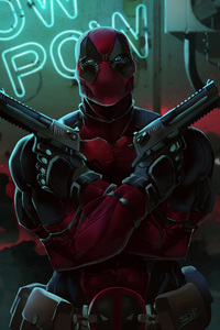 480x800 Deadpool 2 Digital Art