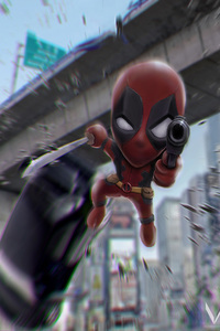 480x800 Deadpool 2 Fan Made Art