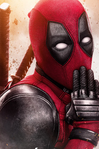 480x854 Deadpool 2 Movie Poster